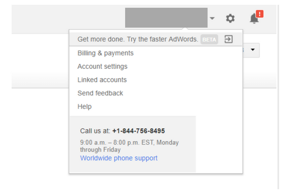 call google support for help