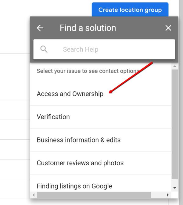 google review option